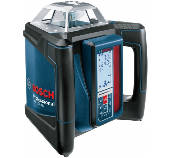 Ротационный нивелир Bosch GRL 500 HV + LR 50 (0601061B00)