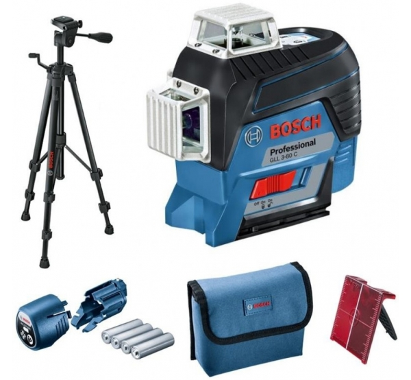 Лазерный нивелир Bosch GLL 3-80 C (0601063R01)