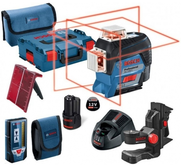 Лазерный нивелир Bosch GLL 3-80 C (0601063R05)