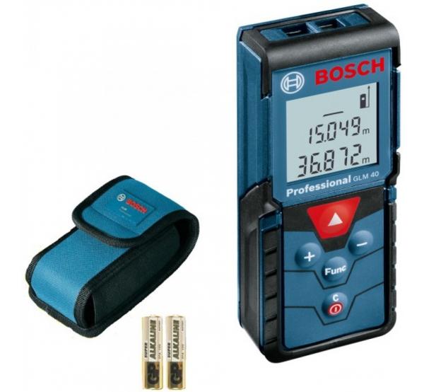 Дальномер лазерный Bosch GLM 40 (0601072900)