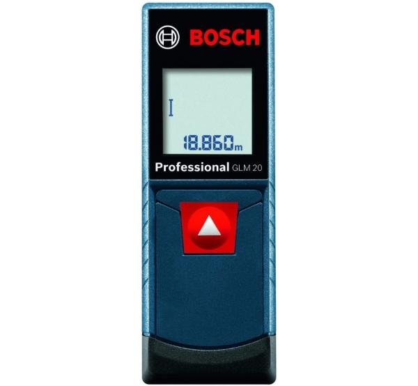 Дальномер лазерный Bosch GLM 20 (0601072E00)