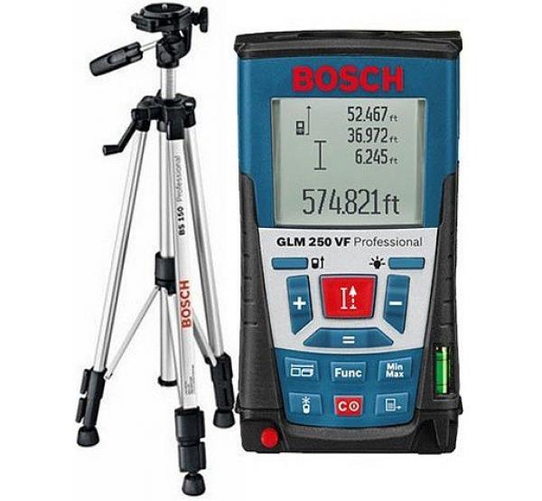 Дальномер лазерный Bosch GLM 250 VF (061599402J)