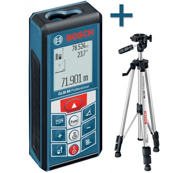 Дальномер лазерный Bosch GLM 80 (06159940A1)