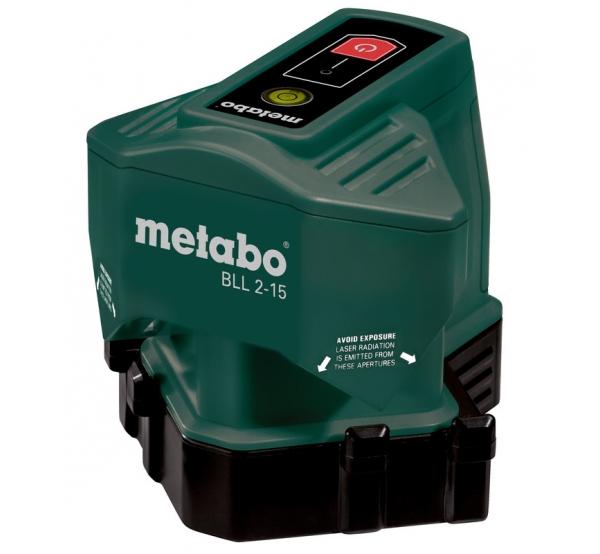 Лазерный нивелир Metabo BLL 2-15 (606165000) для плитки