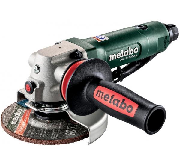 Пневматическая угловая шлифмашина Metabo DW 10-125 Quick (601591000)