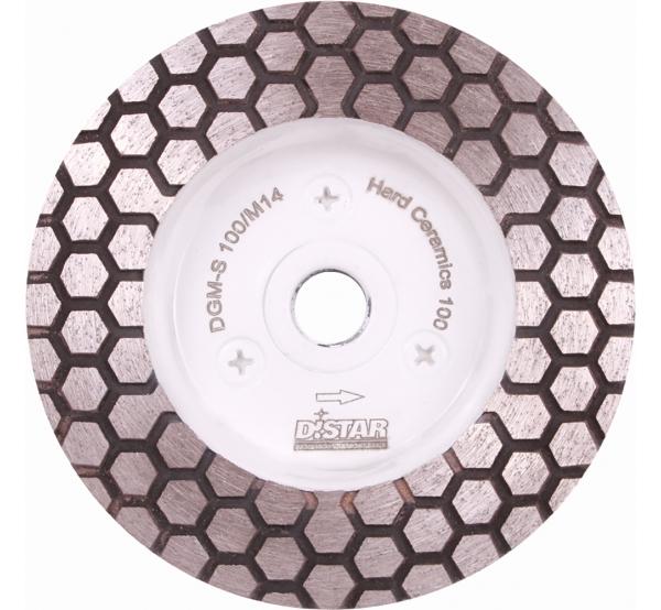 Алмазная фреза Distar DGM-S Hard Ceramics (17483522005) 100мм #100
