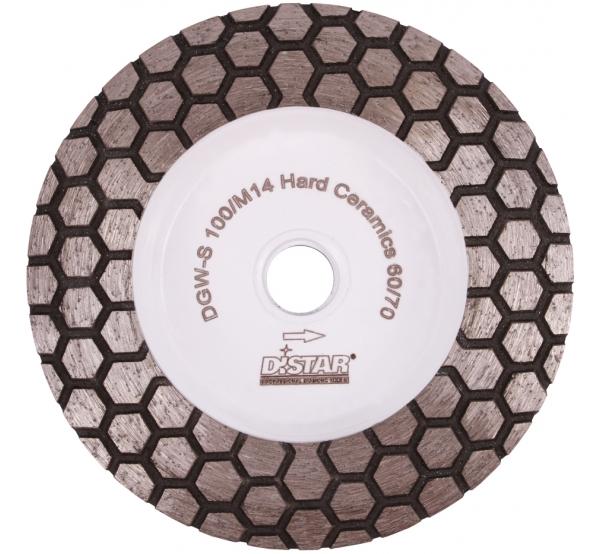 Алмазная фреза Distar DGM-S Hard Ceramics (17483524005) 100мм #60
