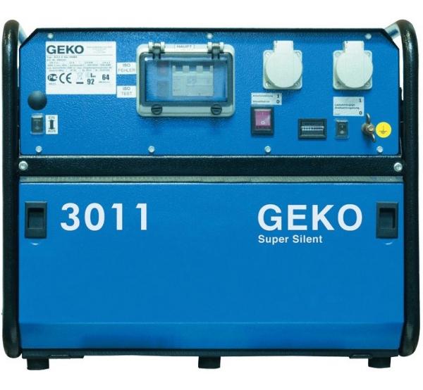 Генератор Geko 3011E-A/HEBA SS