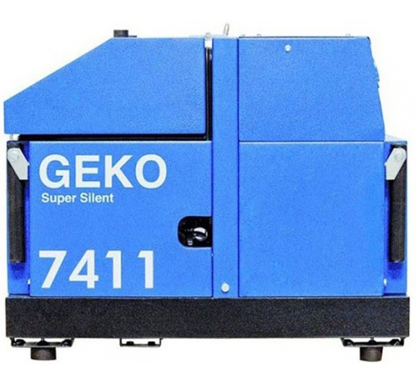Генератор Geko 7411ED-AA/HEBA