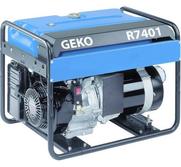 Генератор Geko R7401E-S/HEBA