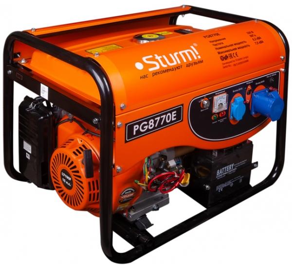 Генератор Sturm PG8770E