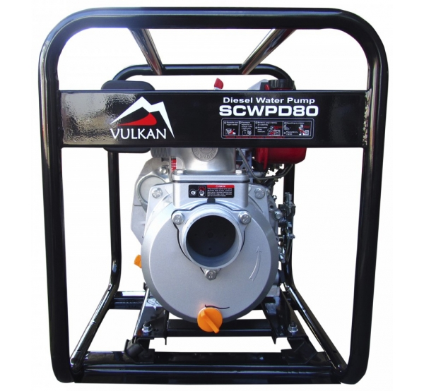 Мотопомпа Vulkan SCWPD80