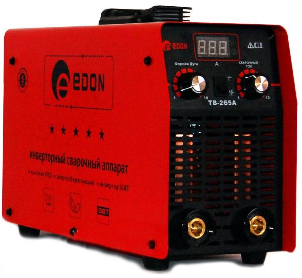 Аппарат сварочный инверторный Edon TB-265A