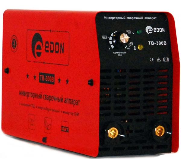 Аппарат сварочный инверторный Edon TB-300B
