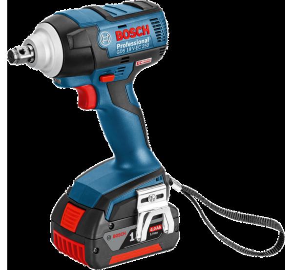 Аккумуляторный гайковерт Bosch GDS 18 V-EC 250 (06019D8120)