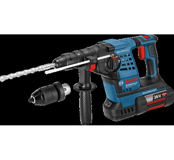 Аккумуляторный перфоратор Bosch GBH 36 VF-LI Plus (0611907002)