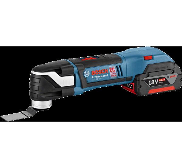 Аккумуляторный многофункциональный инструмент Bosch GOP 18 V-EC (06018B0001)