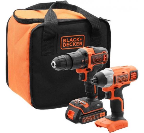 Набор аккумуляторного инструмента Black&Decker BCK21S1S