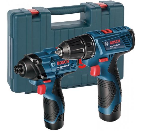 Набор аккумуляторного инструмента Bosch GDR 120-LI + GSR 120 Li (06019F0002)