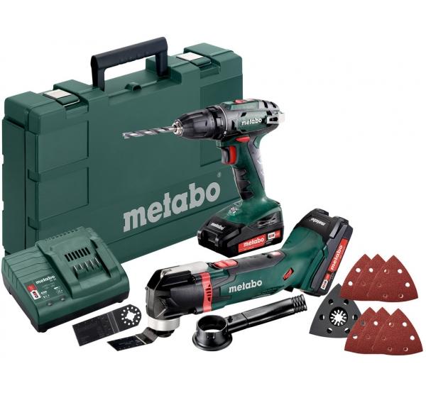 Набор аккумуляторного инструмента Metabo Combo Set 2.6.1 18V (685081000)