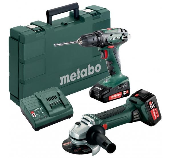 Набор аккумуляторного инструмента Metabo Combo Set 2.4.3 18V (685082000)