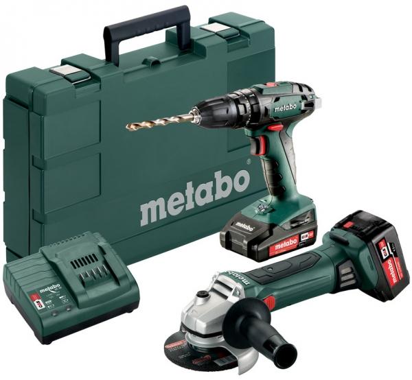 Набор аккумуляторного инструмента Metabo Combo Set 2.4.4 18V (685089000)