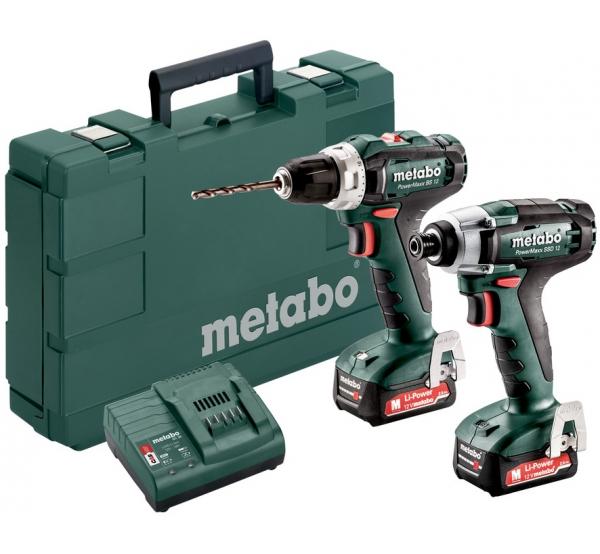 Набор аккумуляторного инструмента Metabo Combo Set 2.7.1 12V (685166000)
