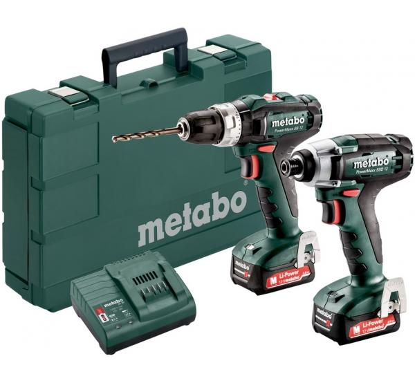 Набор аккумуляторного инструмента Metabo Combo Set 2.7.2 12V (685167000)