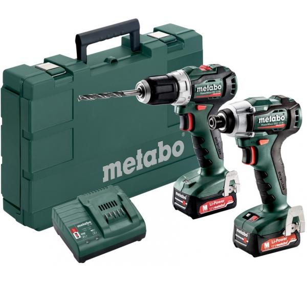 Набор аккумуляторного инструмента Metabo Combo Set 2.7.3 12V (685168000)