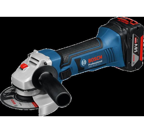 Аккумуляторная угловая шлифмашина Bosch GWS 18-125 V-LI (060193A30B)