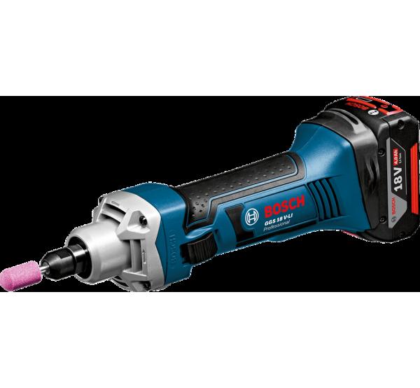 Аккумуляторная прямая шлифмашина Bosch GGS 18 V-LI (06019B5303)