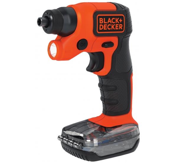 Аккумуляторная отвертка Black&Decker BDCSFS30C