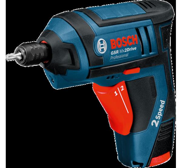 Аккумуляторная отвертка Bosch GSR Mx2Drive (06019A2101)