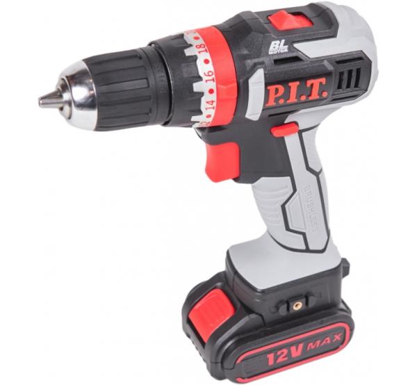 Аккумуляторный шуруповерт PIT PID03001-12M2/BL