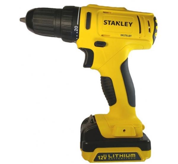 Аккумуляторный шуруповерт Stanley SCD121S2K