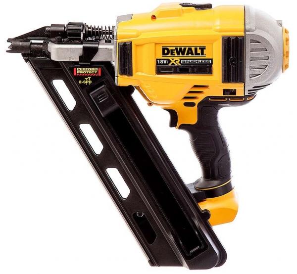 Аккумуляторный гвоздезабиватель DeWALT DCN692N
