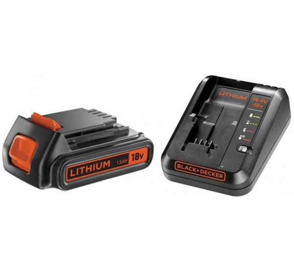 Зарядное устройство + аккумулятор BLACK+DECKER BDC1A15