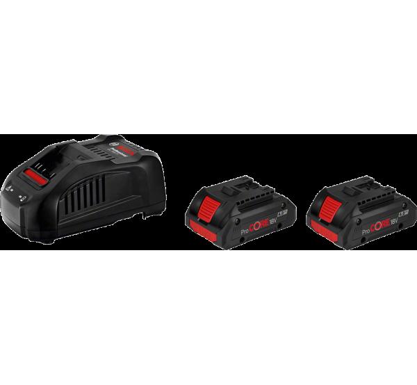 Зарядное устройство + 2 аккумулятора Bosch (1600A016GF)