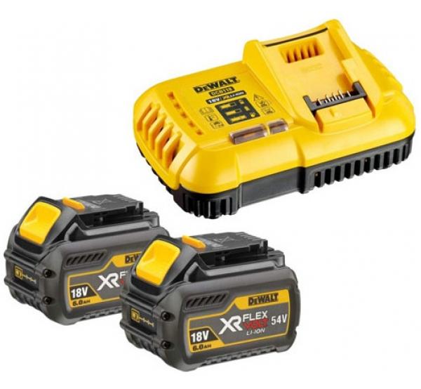 Зарядное устройство + 2 аккумулятора DeWALT DCB118T2
