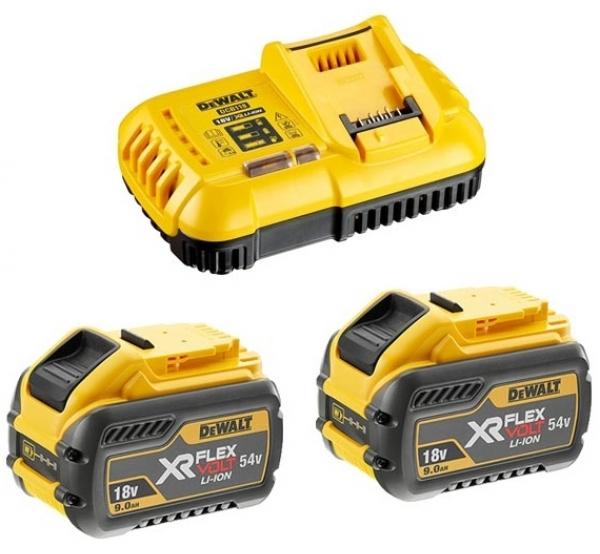 Зарядное устройство + 2 аккумулятора DeWALT DCB118X2