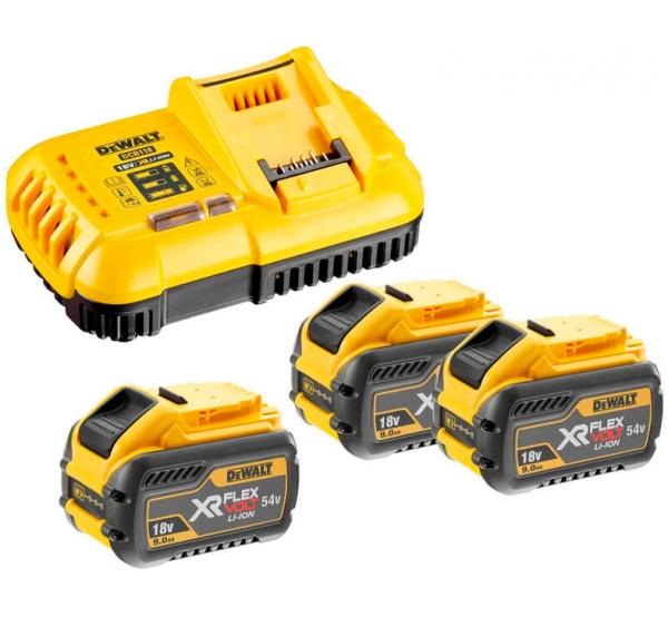 Зарядное устройство + 2 аккумулятора DeWALT DCB118X3