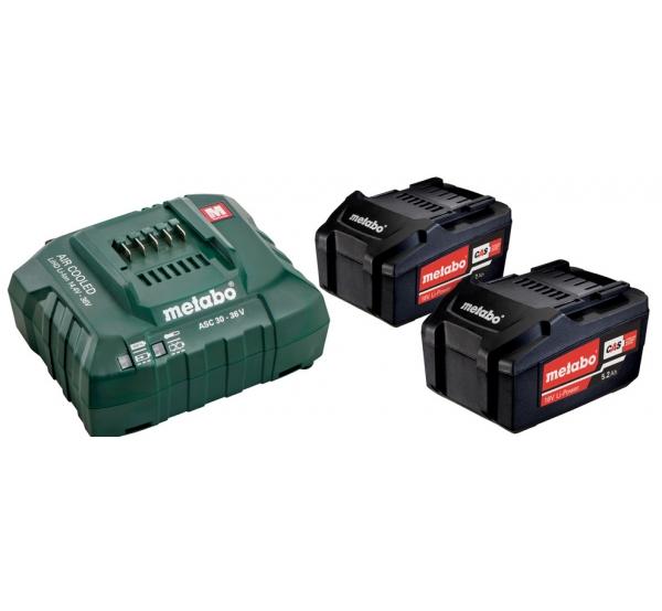 Зарядное устройство + 2 аккумулятора Metabo (685051000)
