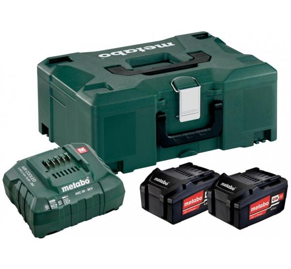 Зарядное устройство + 2 аккумулятора Metabo (685064000)