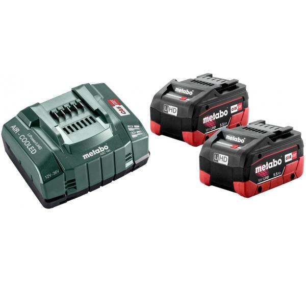 Зарядное устройство + 2 аккумулятора Metabo (685122000)