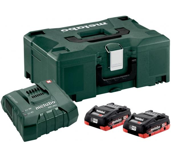 Зарядное устройство + 2 аккумулятора Metabo (685130000)