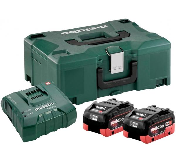 Зарядное устройство + 2 аккумулятора Metabo (685131000)