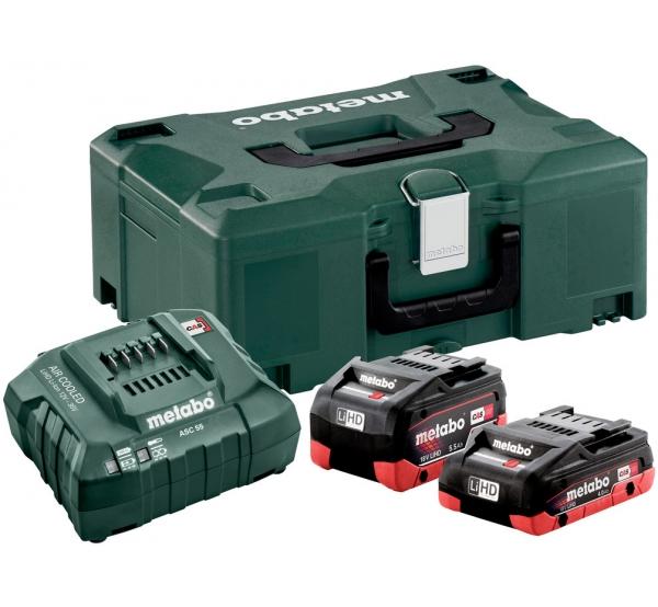 Зарядное устройство + 2 аккумулятора Metabo (685136000)